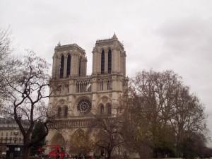 Notre Dame, Paris (front view)