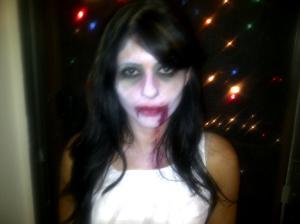 Zombie Ballerina Costume - Halloween 2011
